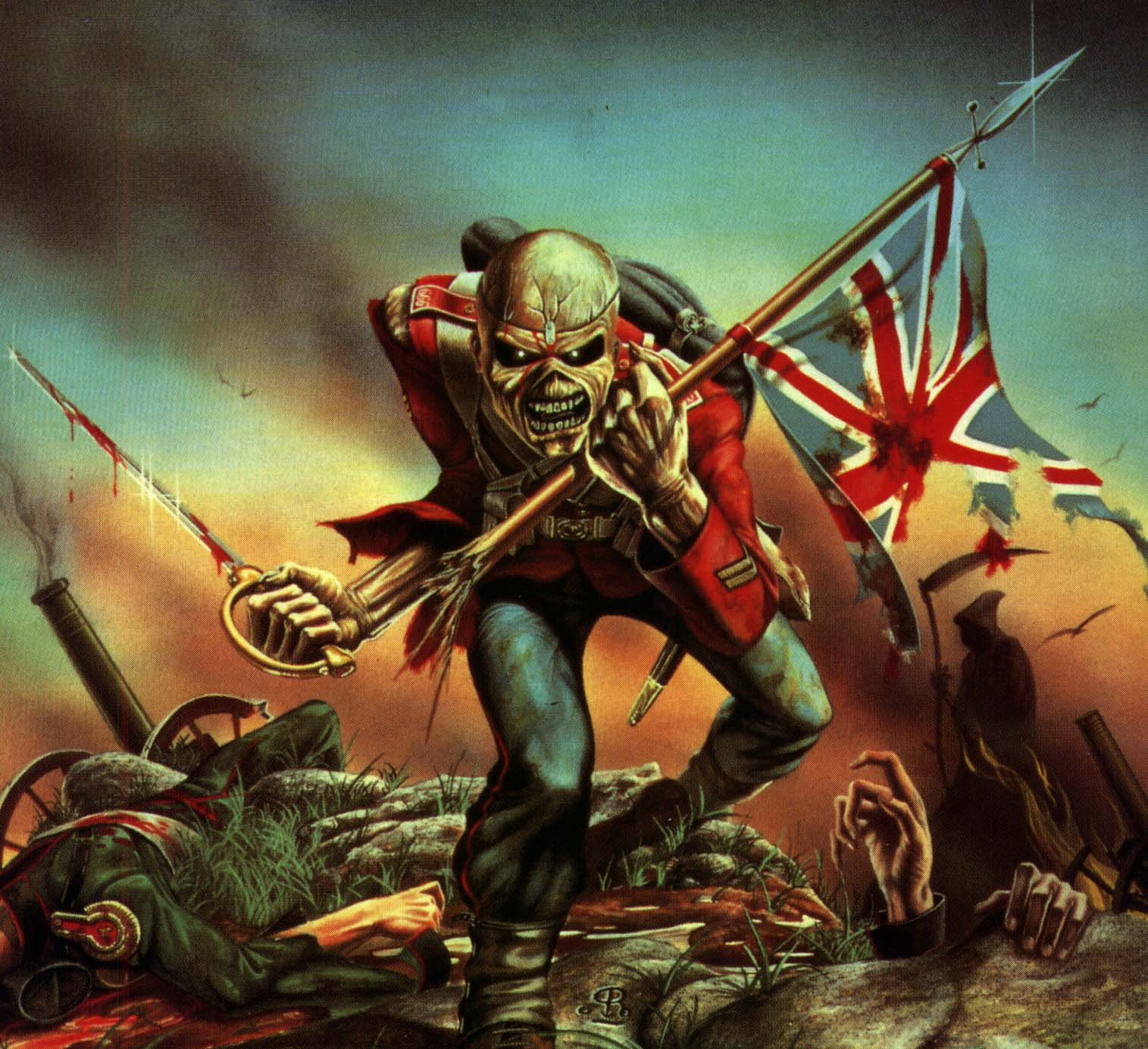 Iron Maiden The Trooper Iron maide Iron Maiden Trooper Wallpaper